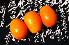 Vers kumquat fruit Royalty-vrije Stock Fotografie