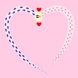 Vers l'amour illustration libre de droits