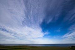 Vers la côte Photographie stock libre de droits