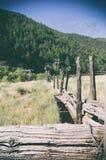 Vers le bas sur le ranch Photographie stock libre de droits