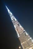 Vers le bas ville de Dubaï Photographie stock libre de droits