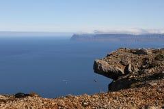 Vers le Groenland Image libre de droits