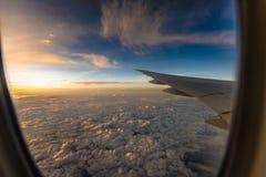 Vers le haut de au-dessus du ciel tellement haut Images stock