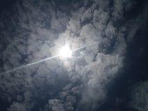 Vers le haut de dans le ciel Photo libre de droits