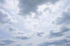 Vers le haut de dans le ciel revisité Images libres de droits