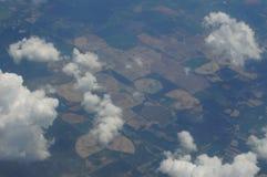 Vers le haut de dans le ciel Photos libres de droits