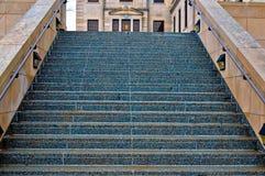 Vers le haut des escaliers de la perfection Image libre de droits