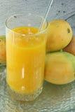 Vers mangosap Royalty-vrije Stock Afbeelding