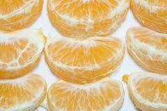 Vers oranje fruit met witte achtergrond Stock Afbeelding