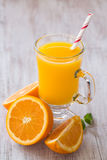 Vers Oranje Juice Breakfast Beverage Stock Fotografie