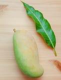 Vers organisch traditioneel Thais mango's hoog vitaminen en mineraal Royalty-vrije Stock Fotografie
