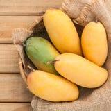 Vers organisch traditioneel Thais mango's hoog vitaminen en mineraal Royalty-vrije Stock Afbeelding