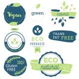 Vers, organisch, vrij gluten, 100% bio, premiekwaliteit, plaatselijk Stock Fotografie