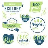 Vers, organisch, vrij gluten, 100% bio, premiekwaliteit, plaatselijk Stock Foto's