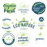 Vers, organisch, vrij gluten, 100% bio, premiekwaliteit, plaatselijk Stock Afbeeldingen
