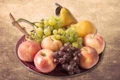 Vers riped vruchten Stock Afbeeldingen