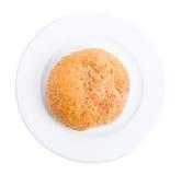 Vers roggebroodje voor hamburger Royalty-vrije Stock Fotografie
