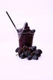 Vers rood druivesap Royalty-vrije Stock Afbeeldingen