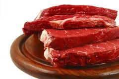 Vers rood rundvleesvlees royalty-vrije stock foto