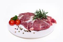 Vers ruw lapje vlees Royalty-vrije Stock Afbeelding