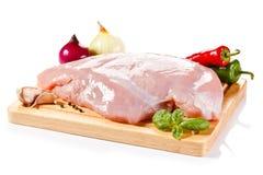 Vers ruw varkensvlees Royalty-vrije Stock Foto's