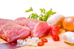Vers ruw vlees Stock Fotografie