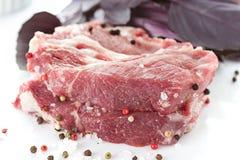 Vers ruw Vlees stock foto