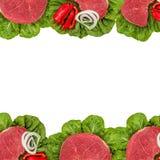 Vers ruw vlees Stock Afbeelding