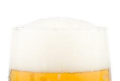 Vers schuimend bier Stock Foto