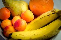 Vers smakelijk en gezond de zomerfruit Stock Foto's