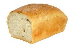 Vers smakelijk geïsoleerdn brood - stock afbeeldingen