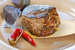 Vers smakelijk lapje vlees stock fotografie
