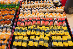 Vers sushi traditioneel Japans voedsel Royalty-vrije Stock Afbeelding
