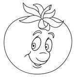 Vers tomatenbeeldverhaal Royalty-vrije Stock Afbeeldingen