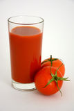 Vers tomatesap Royalty-vrije Stock Afbeelding