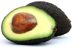 Vers tropisch voedsel, gezond avocadofruit royalty-vrije stock foto