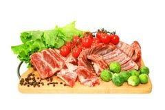Vers vlees stock foto