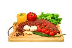 Vers vlees Royalty-vrije Stock Foto's