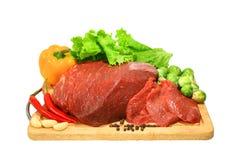 Vers vlees Stock Afbeelding