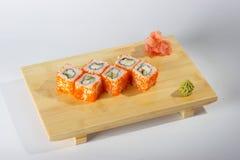 Vers voorbereide sushi   royalty-vrije stock fotografie
