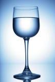 Vers waterglas stock afbeeldingen