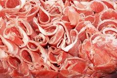 Vers worsten en vlees Royalty-vrije Stock Afbeelding