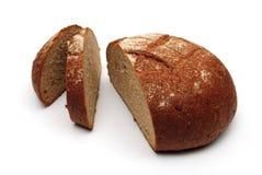 Vers zwart rond brood royalty-vrije stock afbeeldingen