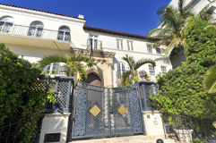 Versace mansion Stock Images