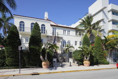 Versace Mansion Ocean Drive Royalty Free Stock Photo