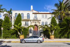 Versace mansion at the Ocean Drive Stock Image