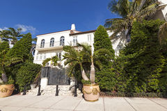 Versace mansion at the Ocean Drive Stock Photo