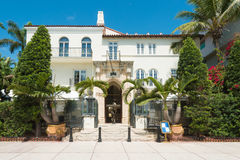 The Versace Mansion in South Beach, Miami Royalty Free Stock Image
