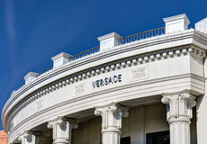 Versace Retail Store Exterior Stock Photo