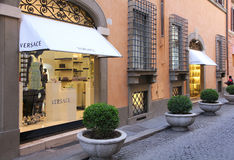 Versace in Rome, Italy Royalty Free Stock Photos